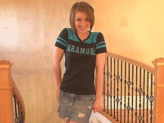 young teen girl rachel