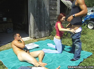 Young porn. Two muscular guy sharing one - XXX Dessert - Picture 7