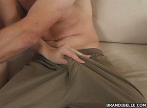 Hand job porn. Brandi Belle picks up a g - XXX Dessert - Picture 7