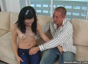 Handjob porn. It seems her warm mouth li - XXX Dessert - Picture 4