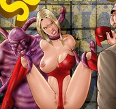 Bdsm comics. You're wet like a river! Feel my black cobra inside your