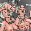 Bdsm art toons. On your knees...but the contest isn't over yet!