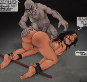 Adult bondage comics. I'm gonna put my cock all the way to your sobbing