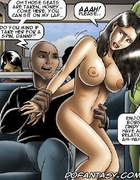 Slave comics. Those seats are taken honey! Come here, you can sit on my