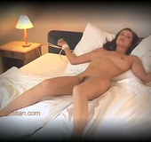 Xxx tights. Big boobed Kyla slowly stripteasing on her place. She has