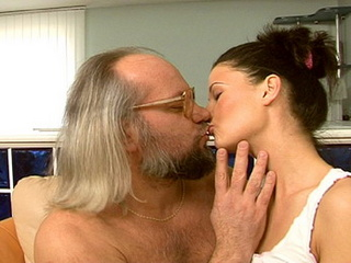 young love hairy grandpa