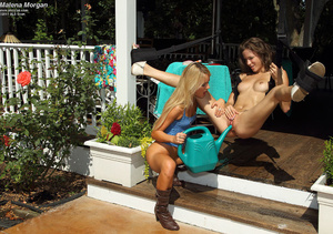 Malena Morgan Spread Wide by Sara Jaymes - XXX Dessert - Picture 12