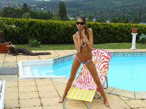 Silvie Delux Nude Hitchhiking and Gaping - XXX Dessert - Picture 1