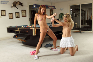 Gigi Rivera & Franziska Share 2 Sided Di - XXX Dessert - Picture 4