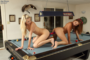 Gigi Rivera & Franziska Share 2 Sided Di - XXX Dessert - Picture 15