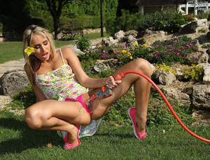 Alexa Hosing Down and Stuffing Her Panti - XXX Dessert - Picture 6