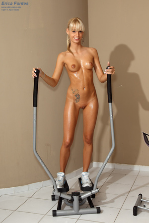 Erica Fontes Hits the Gym Before Gaped w - XXX Dessert - Picture 10