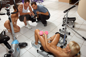 Erica Fontes Hits the Gym Before Gaped w - XXX Dessert - Picture 14