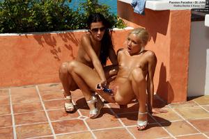 Kacey Jordan & Shalina Devine Toy Fuckin - XXX Dessert - Picture 10