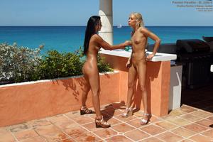 Kacey Jordan & Shalina Devine Toy Fuckin - XXX Dessert - Picture 13