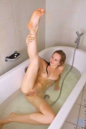 Teen Alla teases her wet pussy with the  - XXX Dessert - Picture 15