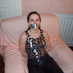 Slut wags handcuffed whipped and bound - Unique Bondage - Pic 9