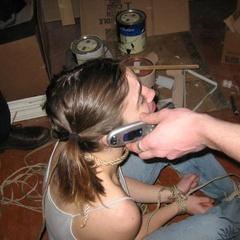 Young submissive sluts tied and bound - Unique Bondage - Pic 12