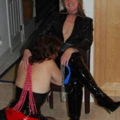 Caged and leashed the perfect submissive - Unique Bondage - Pic 2
