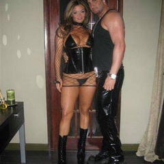 Caged and leashed the perfect submissive - Unique Bondage - Pic 10