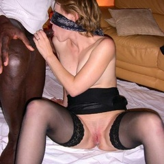 Collared slut wifes mouthful of cum - Unique Bondage - Pic 12