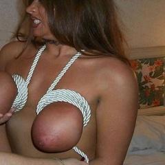 Big tightly bound titties - Unique Bondage - Pic 8