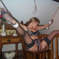 Blindfolded and sucking any old cock - Unique Bondage - Pic 12