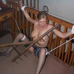 Tied up sluts getting spanked - Unique Bondage - Pic 12