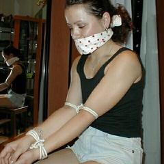 Sluts hogtied with supreme ropework and - Unique Bondage - Pic 5