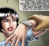 Slave girl comics. Secret, sexy, night-side of the hospital ...