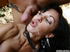 Dirty MILF getting humiliated by a super - Unique Bondage - Pic 16