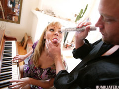 Hot bodied MILF is bound, disgraced and - Unique Bondage - Pic 2