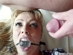 Hot bodied MILF is bound, disgraced and - Unique Bondage - Pic 16