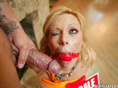 MILF whore gets fucked on the day of OPEN - Unique Bondage - Pic 15