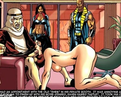 Captured and roped slave chick asked to - BDSM Art Collection - Pic 1