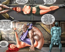 Big boobed new slave girl humiliated - BDSM Art Collection - Pic 1