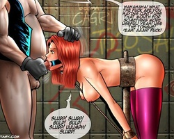 Big boobed new slave girl humiliated - BDSM Art Collection - Pic 4