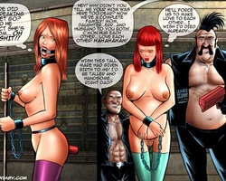 Big boobed new slave girl humiliated - BDSM Art Collection - Pic 6