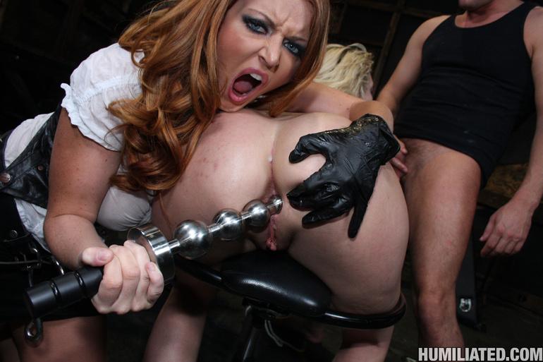 Dirty slut disgraced with monster cumshots! - Unique Bondage - Pic 11