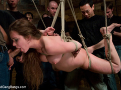 Devaun tied up and fucked by a gang of - Unique Bondage - Pic 9