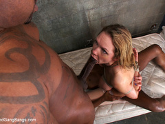 Rain Degrey cums hard as she is tied up and - Unique Bondage - Pic 10