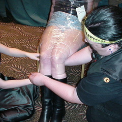 Crazy girls undressed, tortured and fucked - Unique Bondage - Pic 3