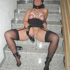 Amateur girls get facial and pussy abuse - Unique Bondage - Pic 13