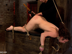Girl next door bound ass up.  Double - Unique Bondage - Pic 14