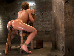 Amy Brooke has her amazing gaping ass fucked - Unique Bondage - Pic 6