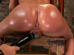 Amy Brooke has her amazing gaping ass fucked - Unique Bondage - Pic 15