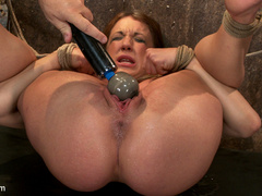 Amy Brooke is brutally orgasmed to near - Unique Bondage - Pic 9