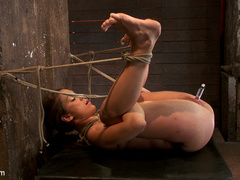 Amy Brooke is brutally orgasmed to near - Unique Bondage - Pic 13