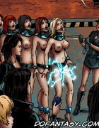 Slave girl comics. Naughty girls are punished very severely.