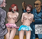 Bondage cartoons. And he's been dying to get his hands on a white slut